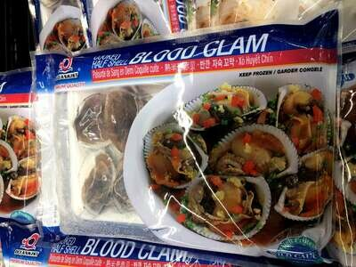 【RBS】Blood Clam 熟半壳赤贝 453g