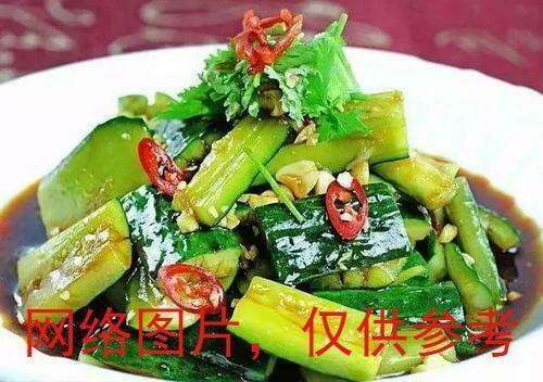 【新疆烧烤】Cucumber with Mashed Garlic Sauce爽口拍黄瓜 (Closed Tuesday)