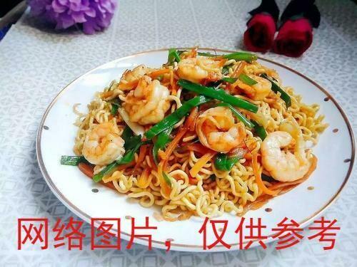【新疆烧烤】Shrimp Fried Noodle 虾仁炒面(Closed Tuesday)