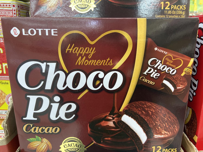 【RG】乐天 CACAO Chico Pie 巧克力派 12小包入 336g