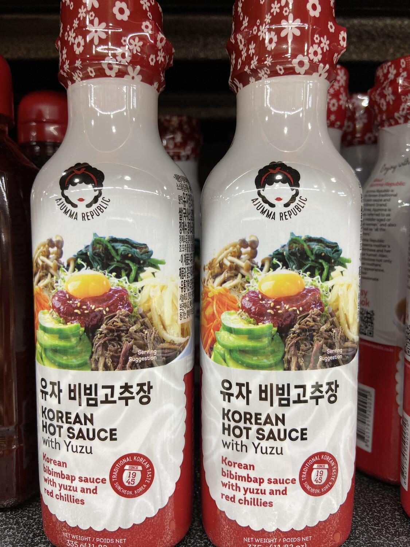 【RBG】Korean Hot Sauce With Yuzu 韩国 石锅拌饭 辣椒酱 335g