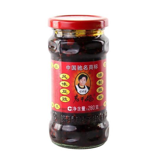 【RBG】老干妈 风味豆豉 油辣椒 280G