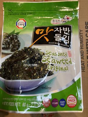 【RDG】调味海苔粒 炒海苔 原味 60g