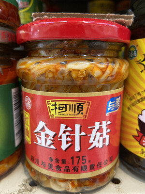 【RG】红油金针菇 175g