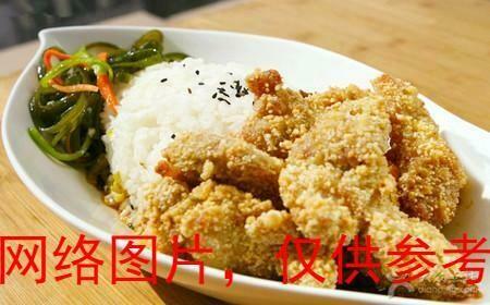 【味佳香】Pepper Salty Chicken Nuggets w/Rice Plate鹹酥雞飯 (Closed Monday)