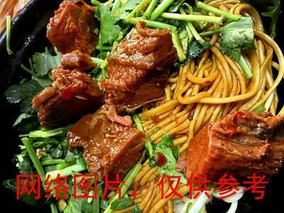 【味佳香】Braised Beef w/Dry Noodles 牛肉拌面 (Closed Monday)