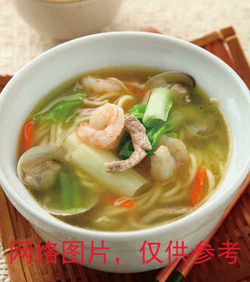 【味佳香】Seafood Noodle/Rice Noodle Soup海鮮什錦 米粉湯/湯麵 (Closed Monday)