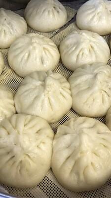 【又一村】Steamed Pork & Napa Bun(6pcs) 猪肉白菜包(6只)(Thu. and Fri. only 仅周四周五)