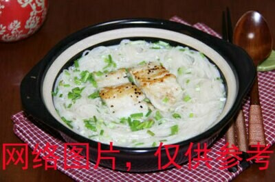 【味佳香】Fried Fish Steak w/Noodle Soup 鱼排汤面 (Closed Monday)