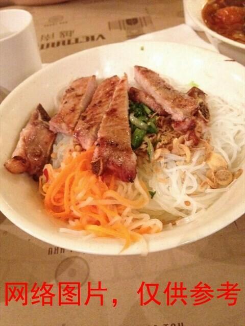 【味佳香】Dry Noodle w/Deep Fried Pork Chop 猪排乾面(Closed Monday)