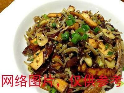 【味佳香】Deep Fried Small Fishes w/Bean Curd 小鱼豆干 (Closed Monday)
