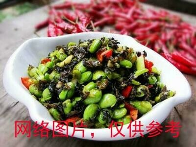 【味佳香】Stir-Fried Snow Cabbage/Edamame 雪菜毛豆  (Closed Monday)