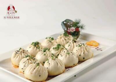 【又一村】Pan-Fried Buns(Pork & cabbage)生煎包(包菜猪肉,微辣) (Thu. and Fri. only 仅周四周五)