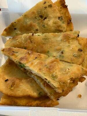 【又一村】Green onion Pancake 葱油饼(Thu. and Fri. only 仅周四周五)