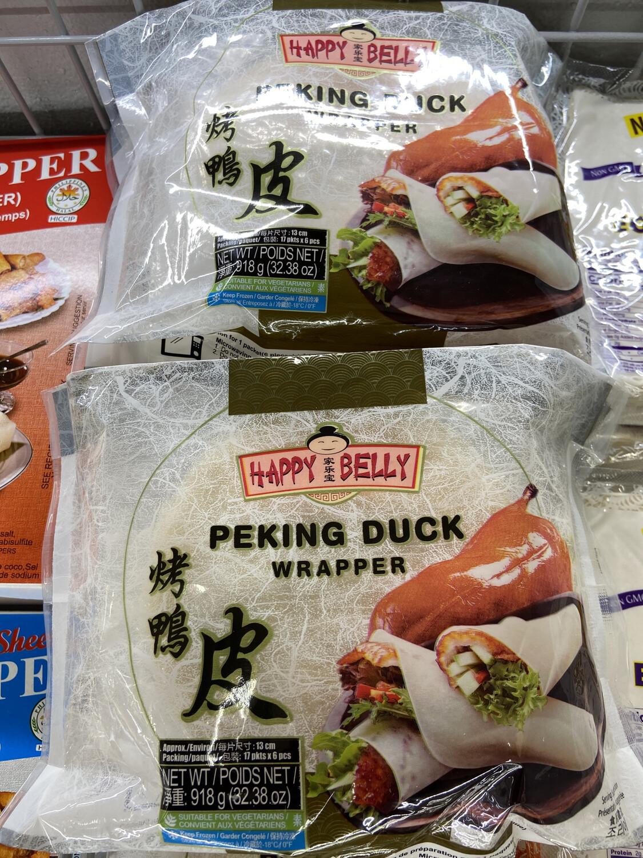 【RF】家乐宝 Peking Duck Wrapper 烤鸭皮  烤鸭卷饼13cm 17pkts*6pcs 918g