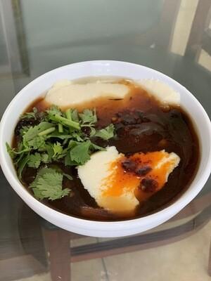 【又一村】Jellied Bean Curd(sweat/salty)豆腐脑(甜/咸)(Thu. and Fri. only 仅周四周五)
