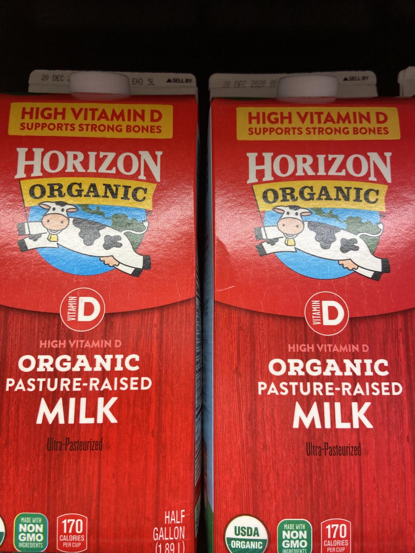 【RDF】Horizon Organic Milk 有机全脂牛奶 64oz
