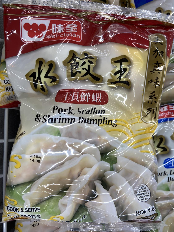 【RF】味全水饺王 干贝鲜虾 21oz
