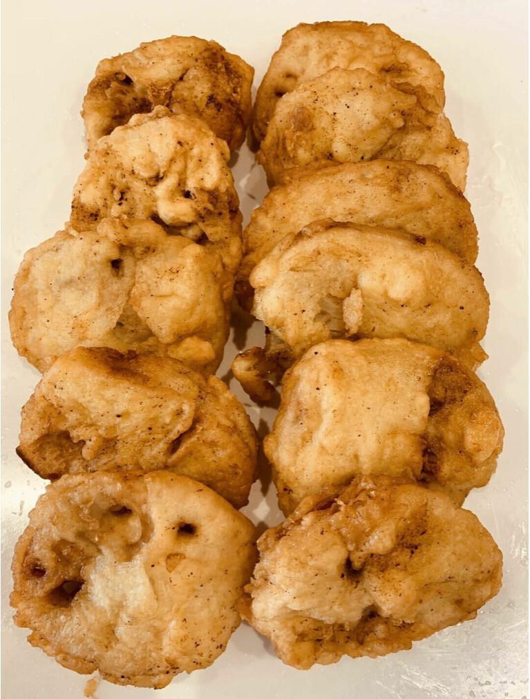 【精武鸭脖】  Fried Lotus Root Sandwich 炸藕夹一磅(Closed Monday)