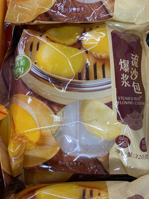 【RF】清美 爆浆流沙包 甜而不腻 松软可口 320g