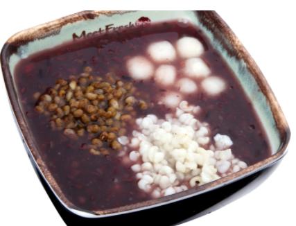 【鲜芋仙】Purple Rice Soup #1  紫米粥 1号