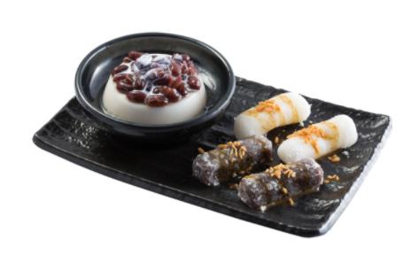 【鲜芋仙】Q Mochi & Almond Pudding Combo Q麻精杏仁布丁拼盘
