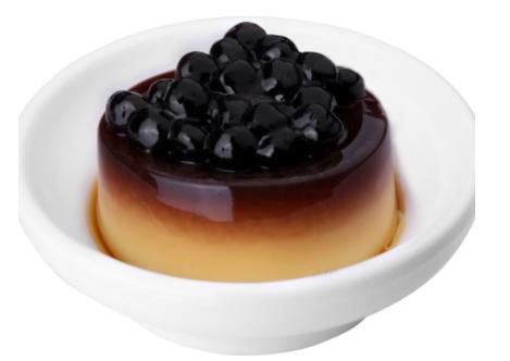 【鲜芋仙】Caramel Pudding W. Boba珍珠焦糖布丁