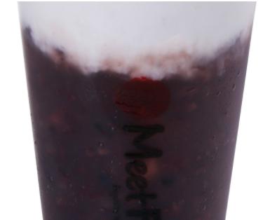 【鲜芋仙】Purple Rice Drink W. Fresh Milk 紫米鲜奶