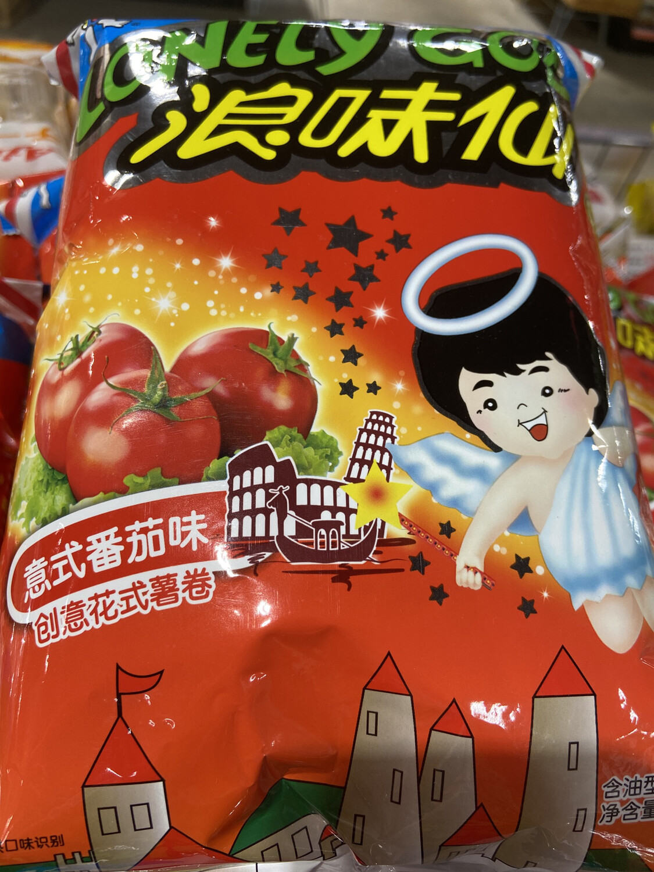 【RBG】浪味仙 意式番茄口味 70g