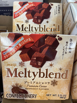 【RDG】Meiji明治 原味巧克力糖 入口即化 冬期限定款  60g