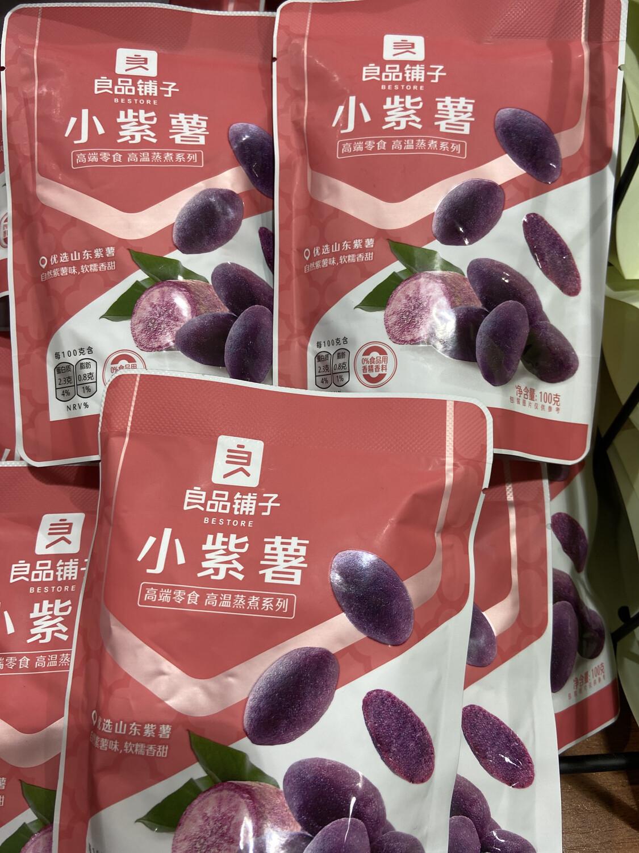 【RG】良品铺子 小紫薯 优选山东紫薯 高温蒸煮 自然薯味,软糯香甜 100g