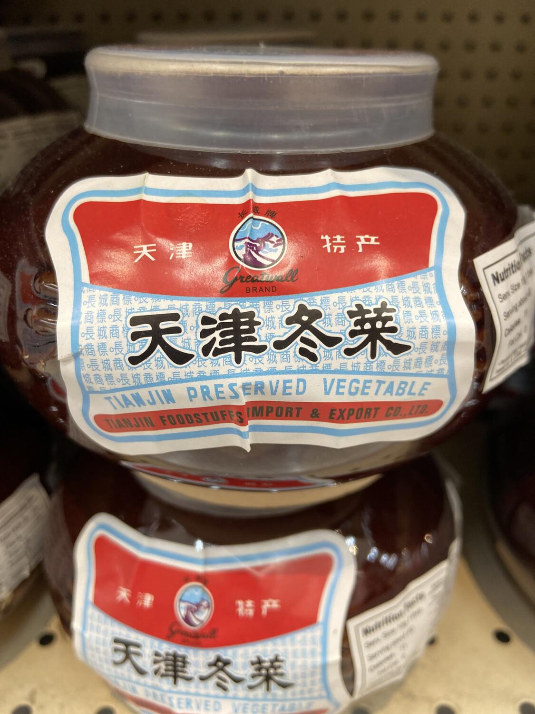 【RG】Tianjin Reserved Vegetable 天津冬菜 600g