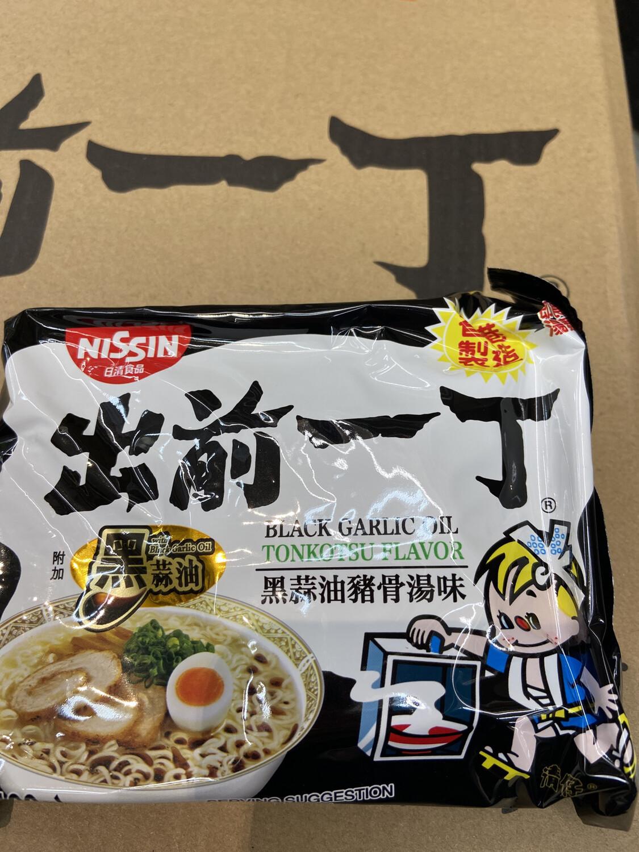 【RG】出前一丁 黑蒜油猪骨汤味 3.5oz