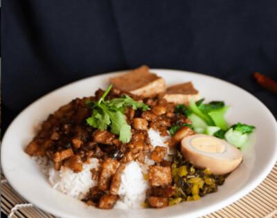 【精武鸭脖】 Salty Pork w. Rice 卤肉饭 (Closed Monday)