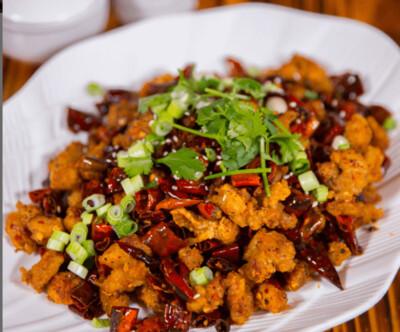 【面面聚道】Szechuan Spicy Chicken 川香辣子鸡