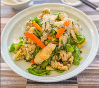 【湘浙汇】Sauteed Bamboo Mustard W. Croaker Fish 雪菜冬笋黄鱼脯(CLOSED MONDAY)