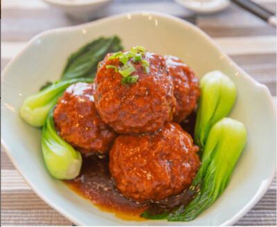 【湘浙汇】Stewed Pork Ball In Brown Sauce 红烧狮子头(CLOSED MONDAY)