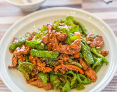 【湘浙汇】Sauteed Beef Filet with Hot Green Pepper杭椒牛柳 (CLOSED MONDAY)