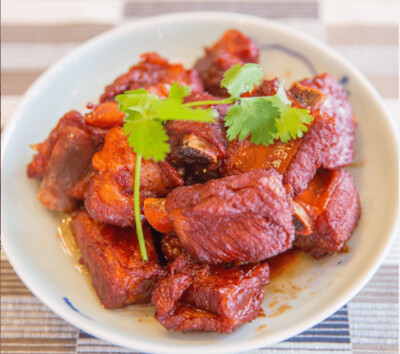 【湘浙汇】Wuxi Style Sauce Pork Belly 无锡酱排骨(CLOSED MONDAY)