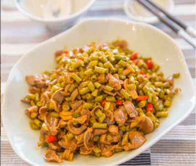 【湘浙汇】Pickled Green Bean with Pork/Gizzards 酸豆角肉末(CLOSED MONDAY)