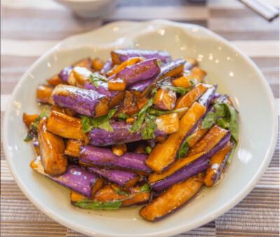 【湘浙汇】Stir-Fried Eggplant W. Basil 九层塔烧茄子(CLOSED MONDAY)