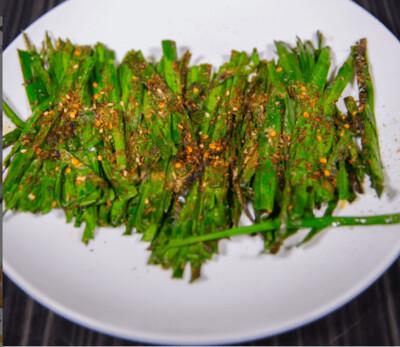 【新疆烧烤】Chinese Chives Skewer 烤韭菜 1份(Closed Tuesday)