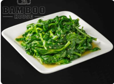 【竹苑】Sauteed Pea Sprouts with Minced Garlic 蒜蓉豆苗(仅周四周五)