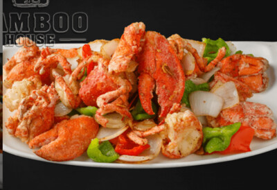 【竹苑】Salt and Pepper Lobster 椒盐龙虾 双龙虾(仅周四周五)