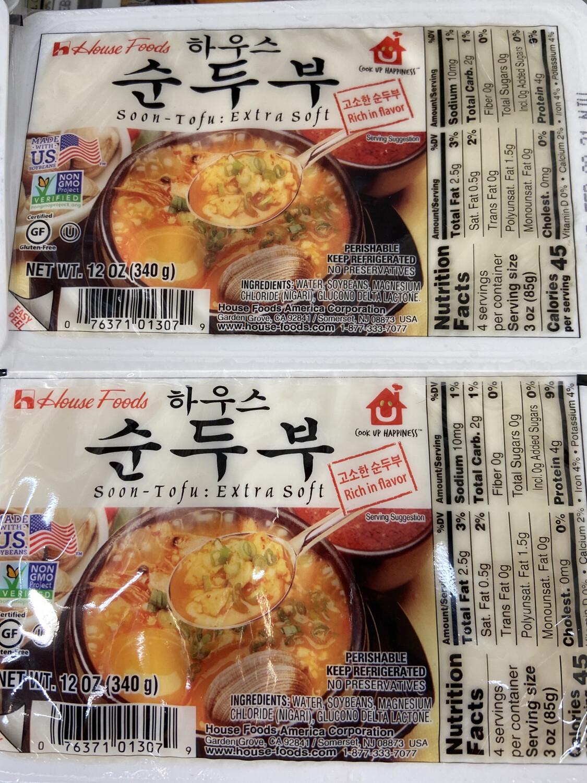 【RF】HF Soon-tofu Extra Soft 韩国特嫩豆腐 340
