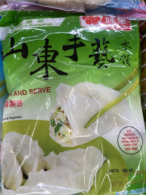 【RF】味全 山东手艺水饺 猪肉韭菜馅 21oz