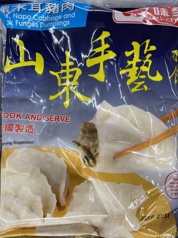 【RF】味全 山东手艺水饺 黑木耳猪肉馅 21oz