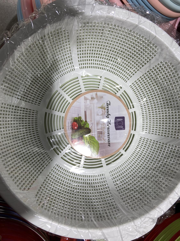 【RBG】洗菜沥水盆 2件套 洗菜盆