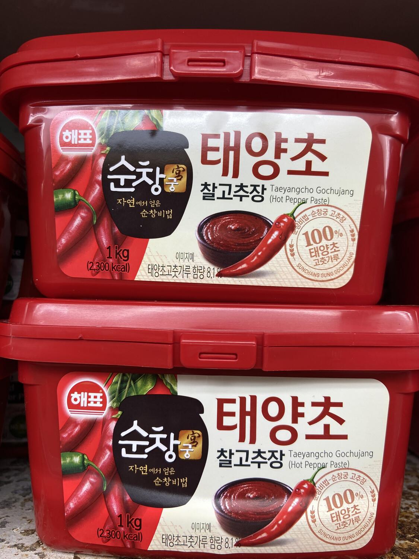 【RF】韩国辣椒酱 1000g