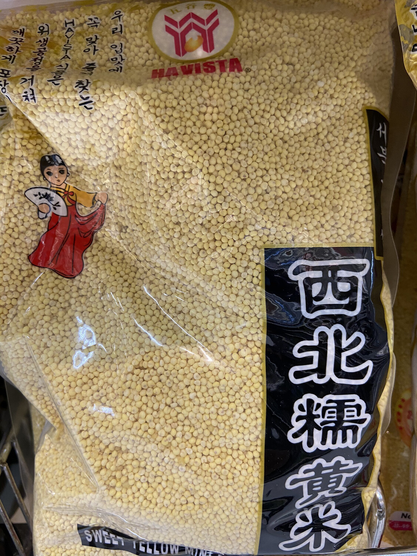 【RG】五谷丰 西北糯黄米 糯小米 2lbs